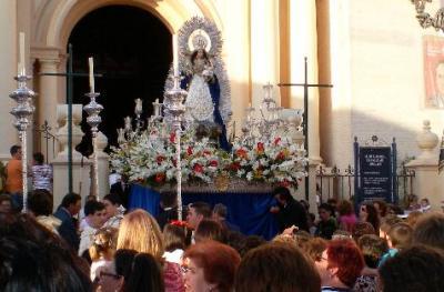 Procesión de la Virgen de Montemayor en Arahal