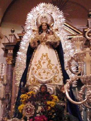 La Hdad Filial de Arahal procesionó a su Virgen de Montemayor