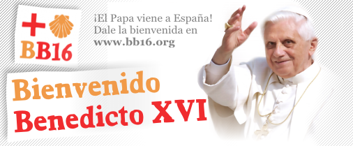 Este blog, con el papa Benedicto XVI