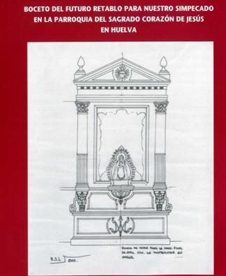 Proyecto de nuevo retablo para la Hermandad de Montemayor de Huelva