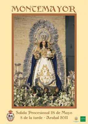 Procesion de la Virgen de Montemayor en Arahal